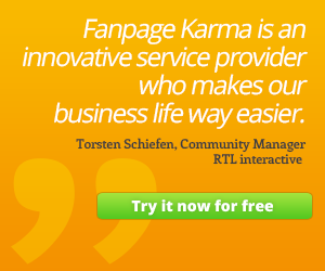 Try Fanpage Karma now for free