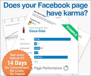 Try Fanpage Karma for Free