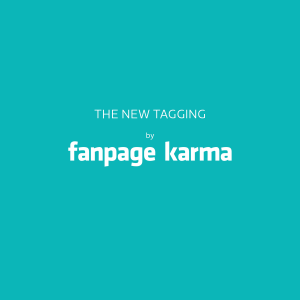 The new Tagging by Fanpage Karma