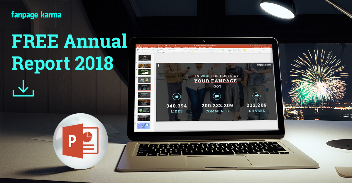 Get your free Annual Report for 2018 - Fanpage Karma Blog